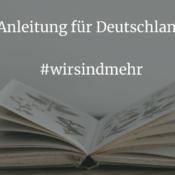 Anleitung für Deutschland